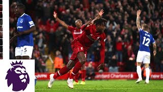 Origi scores unbelievable winner in derby against Everton | Premier League | NBC Sports