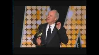 John Lithgow wins Emmy Award for Dexter (2010)