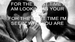 FOR THE FIRST TIME by KENNY LOGGINS WITH LYRICS