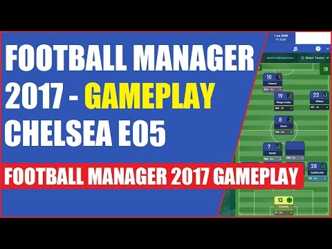 Football Manager 2017 Gameplay - Change of tactics E05