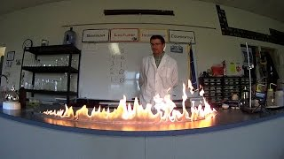 EpicScience - Fun with Fire: Flammable Liquids
