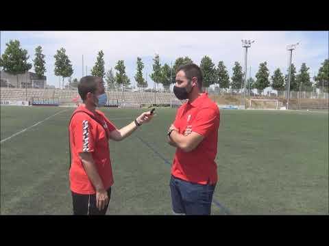 ALEJANDRO SIERRA (Entrenador Calatayud) Actur Pablo Iglesias 2-1 Atlético Calatayud / J 15 / Preferente Gr3