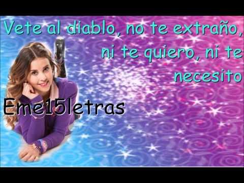 Miss Xv - Vete al Diablo ( Letra )