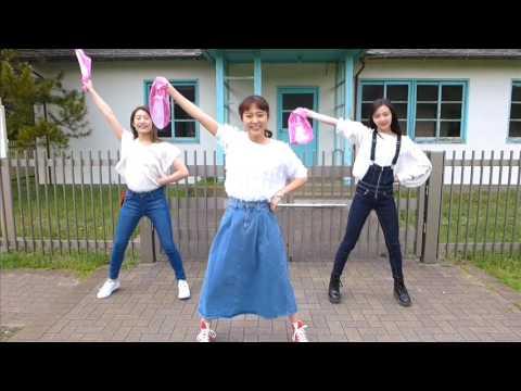 宮脇詩音 「ワッショイ! 」 振りレクチャー動画 (with 山邊未夢&村上来渚)