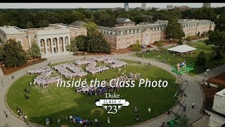 Inside the Class Photo: Duke Class of 2023 video