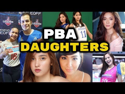 DAUGHTERS of PBA PLAYERS   Prettiest and Most Talented Anak ng mga Basketball Stars