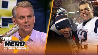 Colin Cowherd on blown call in Saints' loss, Credits Patriots' win to being crafty | NFL | THE HERD