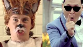 What does the Fox say vs Gangnam Style