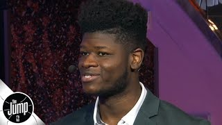 Mo Bamba talks a little trash on the Heat: 'How many times did we beat them last year?' | The Jump