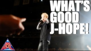 2017 BTS WINGS TOUR EXPERIENCE [JHOPE WHATS GOOD!]