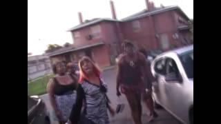 Rachet Fight in THE HOOD over R&B artist Trey Songz?