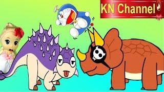 Trò chơi KN Channel DORAEMON và CỔ MÁY THỜI GIAN VỀ THỜI TIỀN SỬ P2 | KHỦNG LONG ĐUÔI BÚA & BỘ XƯƠNG