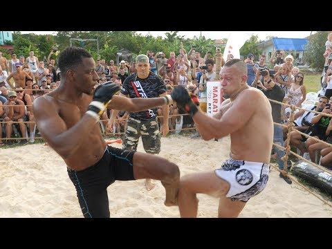 BLACK PANTHER vs RUGBY Player and Monster MMA !!!! 1 vs 2 !!!