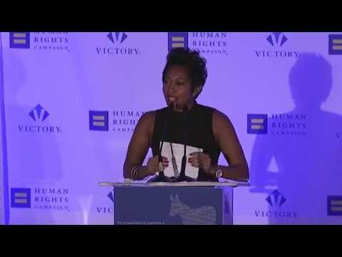 Aisha Moodie-Mills speaks to HRC and The Victory Fund