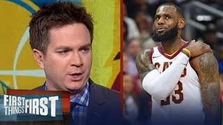 Chris Mannix reveals why Warriors will defeat LeBron's new-look Cavs for title   FIRST THINGS FIRST