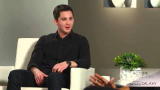 Actors on Actors: Chadwick Boseman and Logan Lerman -  Full Video
