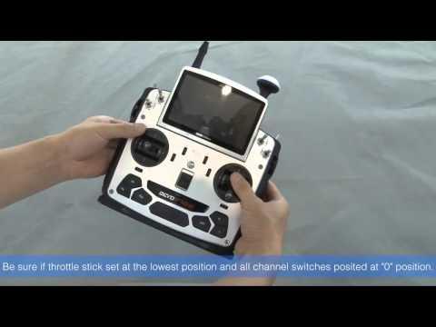 DetoxTAXI.com-Walkera TALI H500 binding and Unlocking motors Guidline VIdeo ...