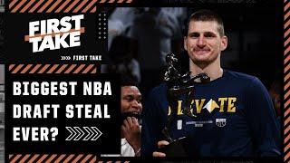 Klay Thompson? Nikola Jokic? Stephen A. and Max name their biggest NBA draft steal | First Take