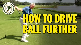 HOW TO HIT A DRIVE FURTHER - DRIVER GOLF TIPS