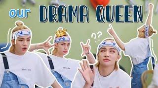 hwang hyunjin, the most dramatic member of stray kids