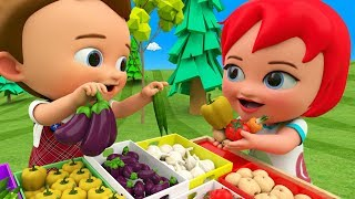 Baby-Preschool Learning Videos | Learn Vegetables Names for Kids with Little Baby Boy Girl Fun Edu - YouTube