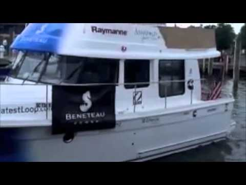 Beneteau's Greatest Loop Departs