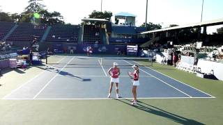 Bank Of The West Classic at Stanford 2010 Azarenka Kirilenko vs Wickmayer Hantuchova Tennis HD 720p