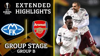 Molde vs. Arsenal: Extended Highlights   UCL on CBS Sports