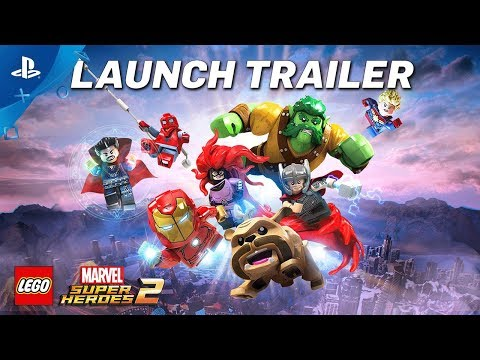 Lego Marvel Super Heroes 2 Game Ps4 Playstation