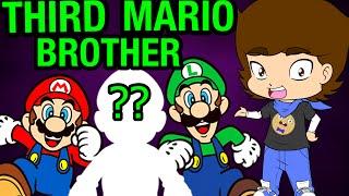 Mario and Luigi's SECRET Brother? (Super Mario Bros. Theory) - ConnerTheWaffle