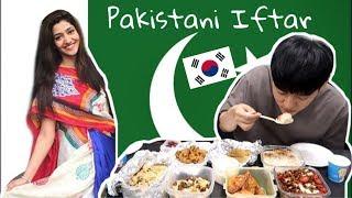 Pakistani Iftar in Korea VLOG