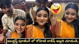 Jabardasth actress Rohini reacts on the question of marria..