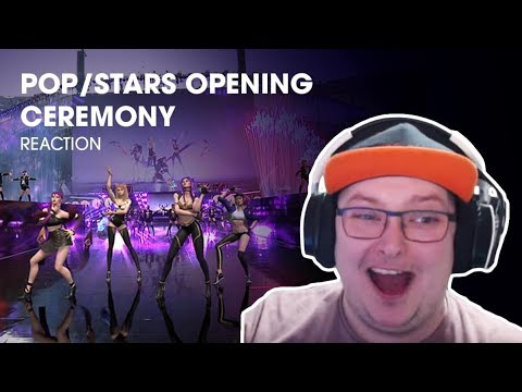 Opening Ceremony - POP/STARS | Finals | 2018 World Championship - REACTION!