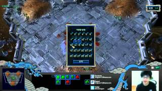 Dragon playing Starcraft Master Mod 1-30