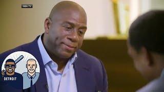 Reacting to Magic Johnson and Isiah Thomas' reunion | Jalen & Jacoby | ESPN