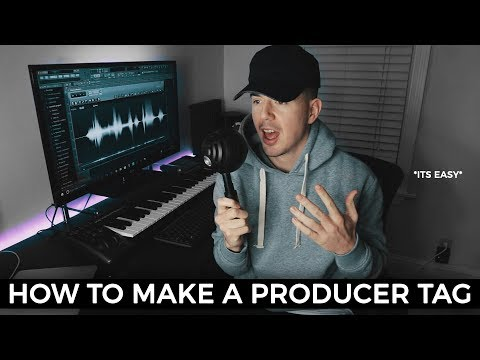 HOW TO MAKE A PRODUCER TAG | How to make a Beat Tag FL Studio 12