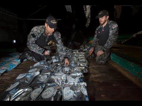 HMAS Warramunga's seventh drug interdiction