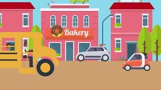 The Wheels on the Bus Nursery Rhyme by Klean Kidz
