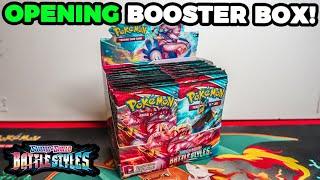 Opening Pokemon Battle Styles Booster Box! *ALT ART PULLED*