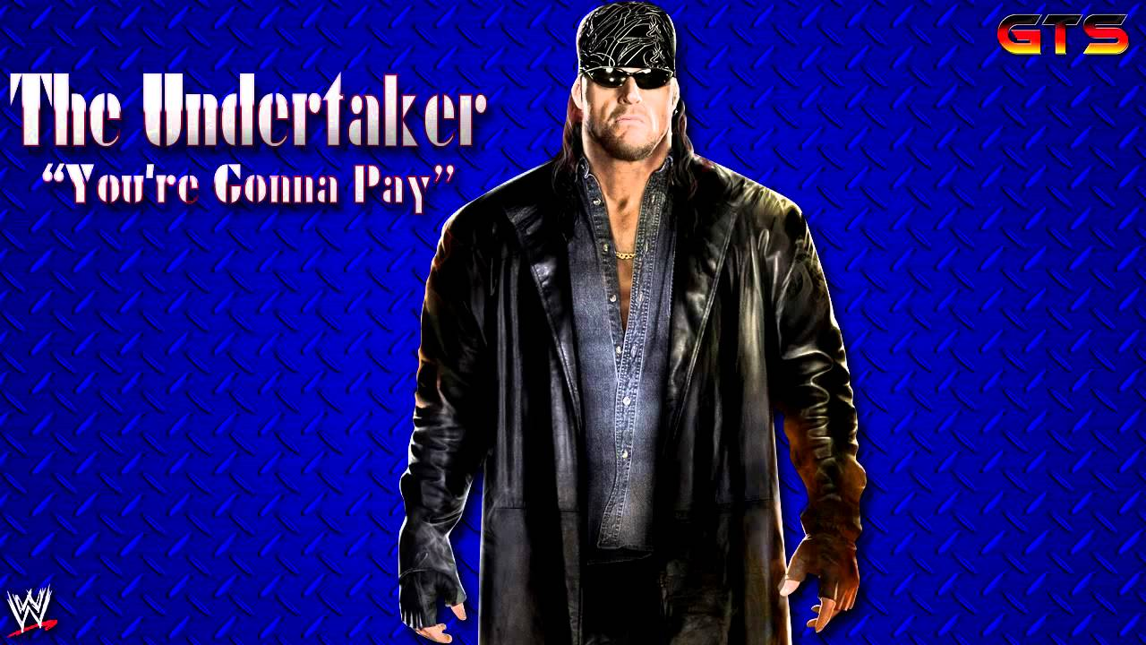 """2002: The Undertaker - WWE Theme Song - """"You're Gonna Pay"""