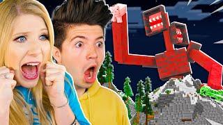 We Found RED Siren Head in Minecraft...