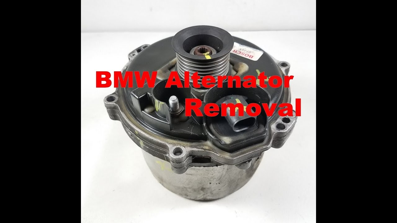 Bmw X5 4 4 740 540i Water Cooled Alternator Removal E39