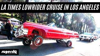 LA TIMES Lowrider Car Club New Years in Elysian Park 2017