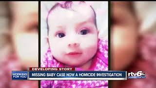 IMPD: Missing 8-month-old Amiah Robertson case is now a 'homicide investigation'