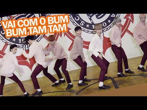 IDOLS COREANOS DANÇANDO FUNK! ft. BLANC7 ( #MidoriTodoDia 11 )
