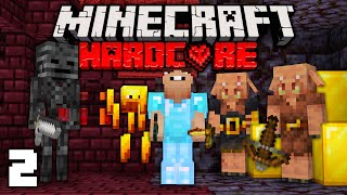 I CONQUERED the Nether In Hardcore Minecraft! (#2)