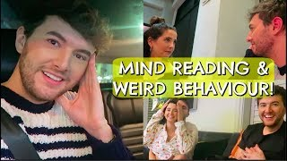 MIND READING & WEIRD BEHAVIOUR!!