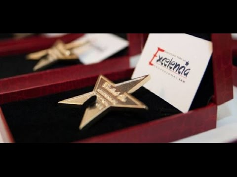 Mohamed Dekkak received Star Gold award at Institute for Professional Excellence in Spain