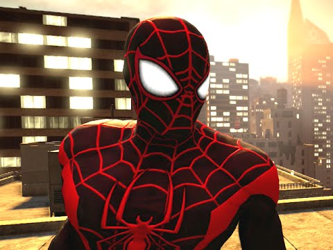 THE AMAZING SPIDER-MAN 2 VIDEOGAME - ULTIMATE SPIDER-MAN COSTUME SHOWCASE - Blitzwinger  - K2NLFUOOcrk -