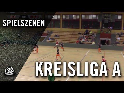 Berliner TSC - FSV Spandauer Kickers II (Hallenturnier der Kreisliga A, Vorrunde, Gruppe 3) - Spielszenen | SPREEKICK.TV
